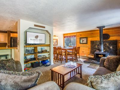 Photo for Large Deck Overlooking Wooded Setting, Walk to Village & Starbucks -  COYO019