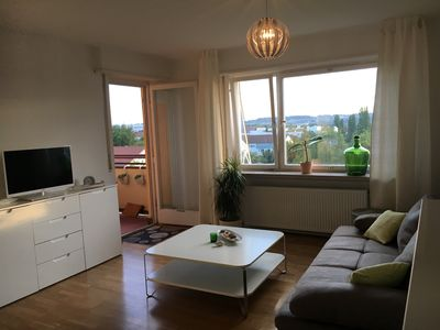 Photo for sunny penthouse apartment, VERY good location, fair with bus in 6 min., A8
