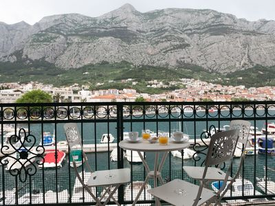 Photo for ctma292 Apartment in the center of Makarska for 3 + 1 persons
