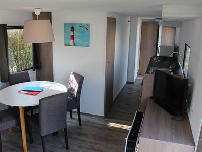 Photo for Mobile home 234 5-star Roompot Beach Resort - Free WIFI / WLAN