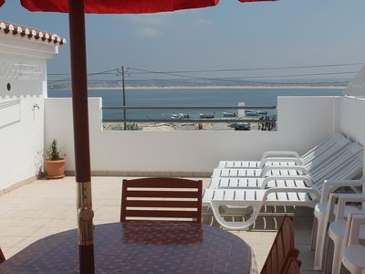 Photo for House in Peniche (Papoa) overlooking the bay