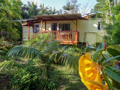 Photo for Private, Peaceful cottage in tropical setting.