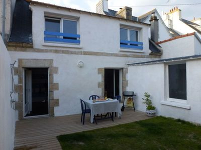 Photo for Charming Breton house in the heart of the market town of Guilvinec