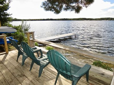 No better location to enjoy your vacation than along the shores of Seymour Pond