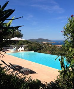 Photo for Elegant Villa, Panoramic Sea View on Palombaggia ... Sardinia ...
