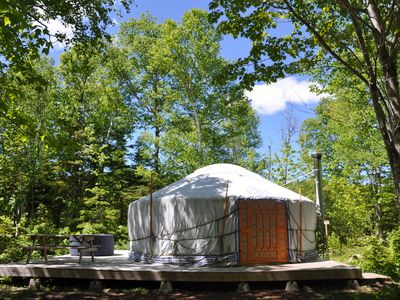 Photo for Forrest Yurt at Cabot Shores Wilderness Resort