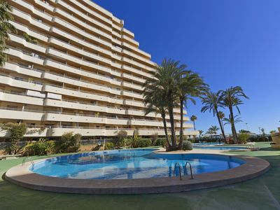 Photo for apartment ELLI - 1 ° line beach La Fossa - Calpe