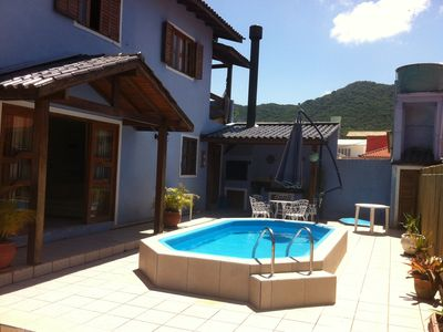 Photo for 4 Bedroon house with pool on Lagoa da Conceiçao