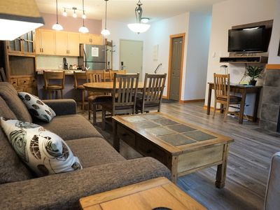 Photo for Premium 2 Bedroom, 2 Bath Condo - Lodges at Canmore (*Reduced summer rates!*)