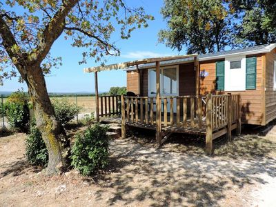 Photo for Camping Le Garrigon **** - Mobile home Idaho 3 Rooms 4 People