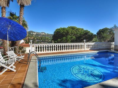 Photo for Villa Natalie - 400m from the beach, 3 bedrooms, private pool, internet