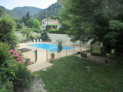"""Photo for Gîte """"Gardon"""" 4p in the Cévennes with common heated pool (in season)"""