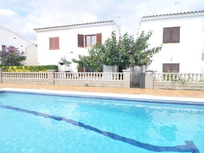 Photo for HOUSE WITH COMMUNITY POOL AND TENNIS - 500 METERS FROM THE BEACH