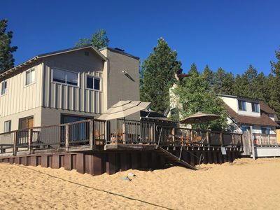Photo for Beachfront Rental in South Lake Tahoe - Private Community ~ Duplex