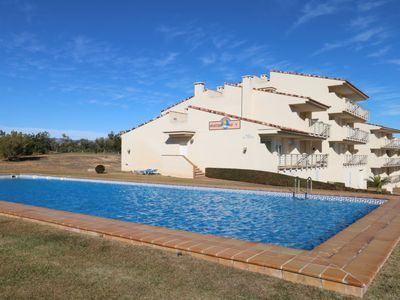 Photo for 2 bedroom Apartment, sleeps 4 in Sant Jordi with Pool and Air Con