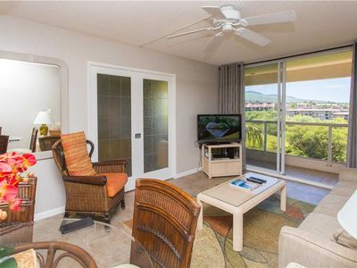 Photo for Maui Banyan H-503 - 1 Bedrooms, Deluxe Condo, Ocean View, 2 pools