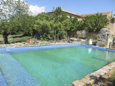 Photo for 1850 old provencal house with swiming pool