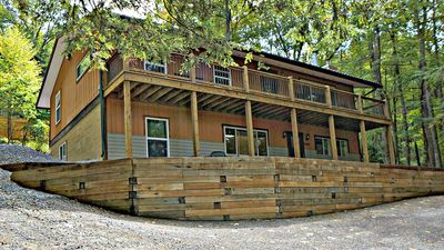 Photo for Lake Shore Haven- Pet Friendly Lake Access Home in Central Deep Creek Lake