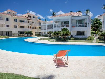 Photo for DELUXE A1 LOS CORALES BEACH, 2 BR, POOL! GROUND FLOOR!