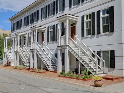 Photo for Stay with Lucky Savannah: 3-Story Townhome w/ Garage Parking off Forsyth Park