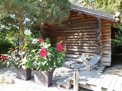Photo for Log Cabin in the Loire Valley