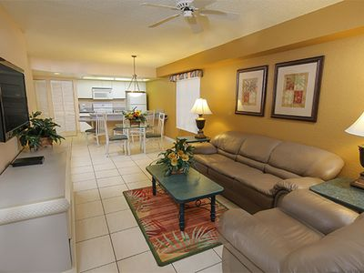 Photo for Spacious Family Condo w/ Resort Pools, Free Theme Park Shuttle & WiFi Included