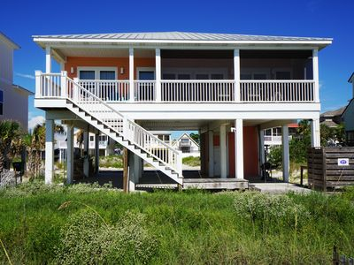 Photo for New Gulf Front Home, North Cape San Blas, only steps to the water's edge!
