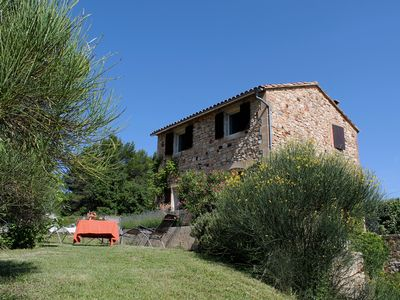 Photo for Stone house surrounded by greenery near Ocher village Roussillon (424 ROU)