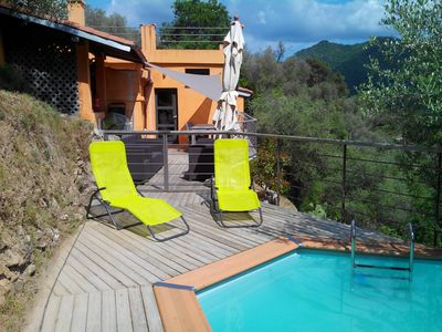 Photo for Holiday home (up to 8 pers) with pool in absolutely fabulous environment!