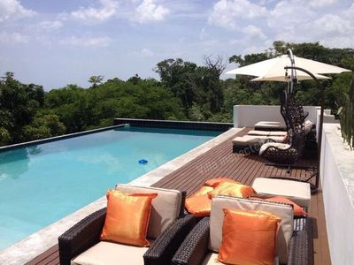Photo for MODERN, Private Pool, Beach in 2 minutes drive! South Coast
