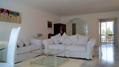 Photo for Apartment in the residence las jacarandas