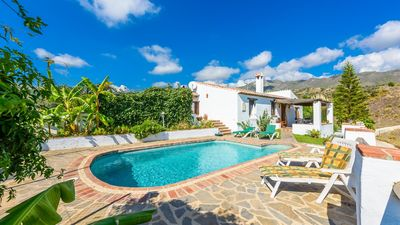 Photo for Fantastic villa located on the hills of Frigiliana