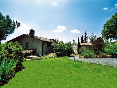 Photo for 3 bedroom Apartment, sleeps 6 in Sensano with Pool and WiFi