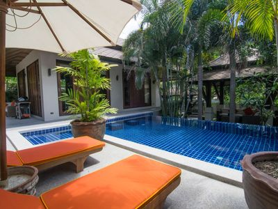 Photo for Peaceful Pool Villa at Hotel Spa Resort