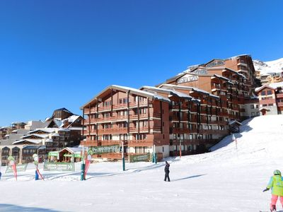 Photo for Comfortable apartment at the slopes in Val Thorens
