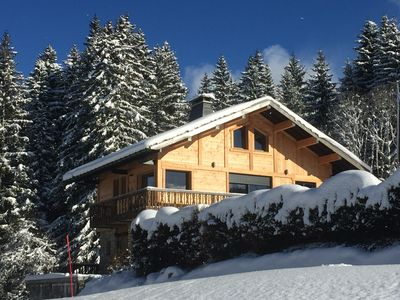 Photo for SKI COTTAGE with FEET - 4 * -Terrace Plein Sud - 0,8m center - Covered parking -