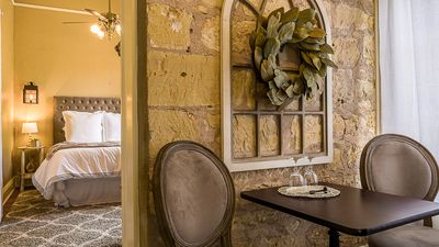 Photo for 6 Room Inn on the Creek, Tuscan Suite, just 1/2 block from Main & Nimitz Museum