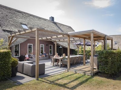 Photo for 12-person culinary farmhouse in the holiday park Hof van Saksen - on the water/recreation lake