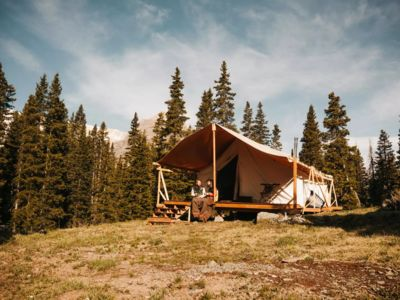 Photo for Gorgeous Imogene Pass Glamping - Catered Outfitters Tent Jeepers/Hikers Paradise