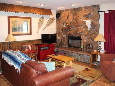 Photo for Cozy Rustic Condo on the Mountain-Book now for Summer 2019 in the Mountains