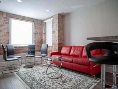 Photo for Apt ideally situated in DC |  walk to metro, Dupont, Logan, & monuments!