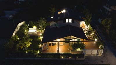 Photo for Charm Villa in Forte dei Marmi with heated Jacuzzi pool