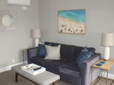 Photo for Immaculate and Beach Close, Bright and Comfortable