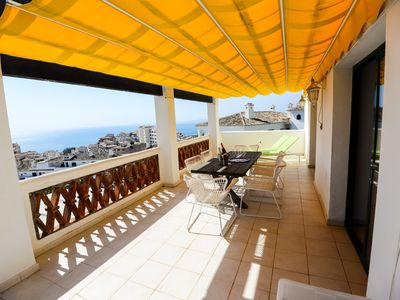 Photo for AUGUST dates Available! Fabulous 3 Bed Apt. Benalmadena  Sea Views  Wifi  Pool