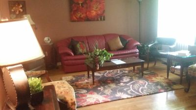Photo for Quaint & Cozy 4 Bedroom Home with attached garage.