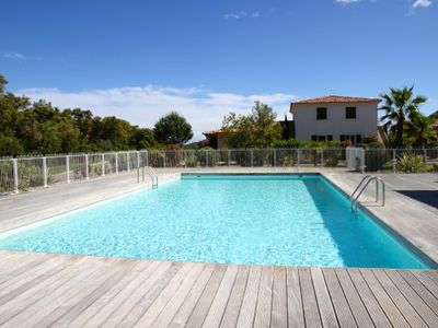 Photo for New luxury apartment - 2 bedrooms - 6/7 pers. - Swimming pool - Beach 500m