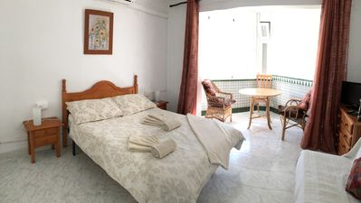 Photo for Air Conditioned Studio Apartment A Stones Throw From Torrecilla Beach
