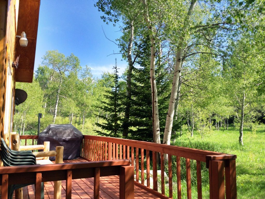 Aspen House Privacy Wildlife Adjoining National Forest