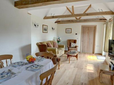Photo for Attractive holiday home with rustic interior on a farm in East Sussex