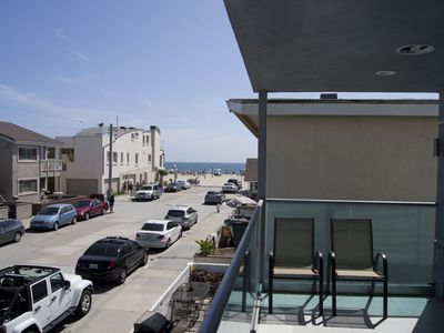 Photo for New Three Story Duplex With Ocean View - Top Unit - 2 bed/3 bath